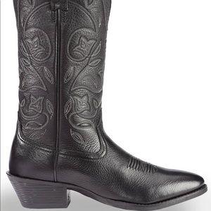 Ariat Heritage Western Round Toe Boots- Black